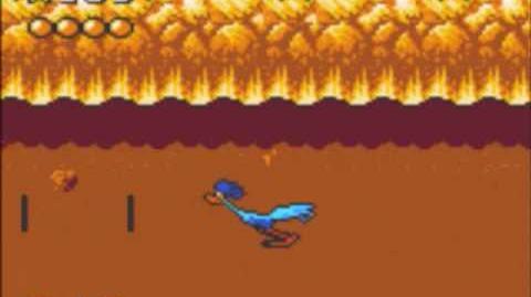 Desert Speedtrap (Sega GameGear) - Walkthrough - Level 1 - Cliffs and Ledges
