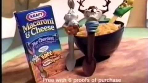 Kraft Macaroni & Cheese Ad- Looney Tunes 2 (2000)