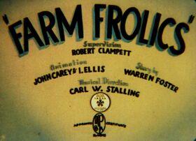 Farm Frolics
