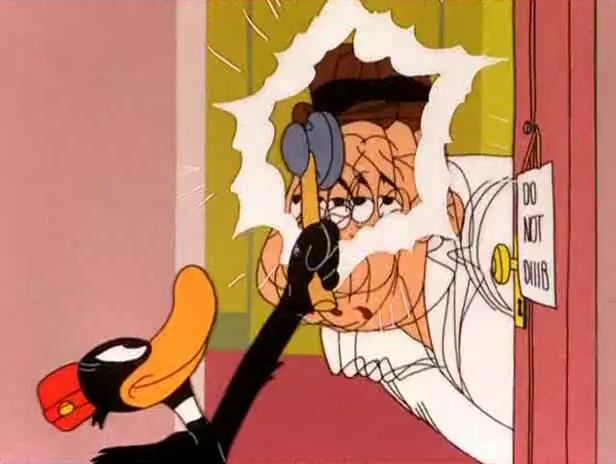 Daffy Duck - (Ep. 43) - A Pest In The House