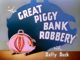 The great piggy bank robbery title