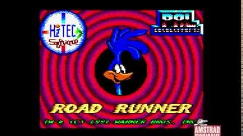 Amstrad CPC Road Runner And Wile E