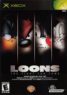 Loons - The Fight for Fame Coverart
