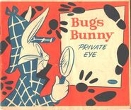 Lt coloring whitman bugs bunny private eye