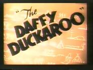 The Daffy Duckaroo (1942, computer colorized version)