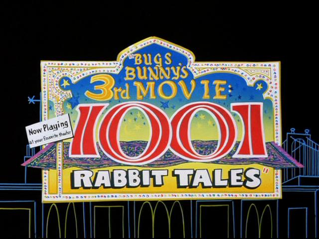 bugs bunnys 3rd movie 1001 rabbit tales vhs