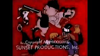 Looney Tunes - Porky And Daffy (Redrawn Remastered)