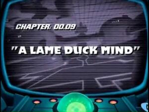 Lt a lame duck mind