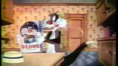 9 Lives 1979 TV commercial