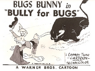 Bully For Bugs Lobby Card
