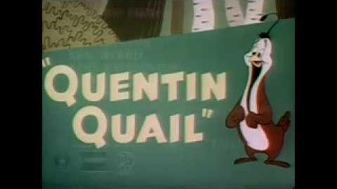 Looney Tunes Quentin Quail 1946