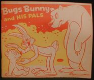 Lt coloring whitman bugs bunny and his pals