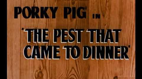 The Pest That Came To Dinner (1948) (1957 Blue Ribbon Print) Opening Titles
