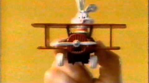 1989 ERTL Looney Tunes Die Cast Toys Commercial