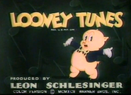 Looney Tunes logo (Porky's Hare Hunt) (Computer Colored)