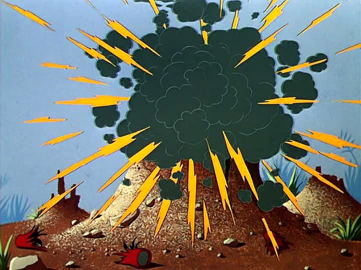 Warner Bros 1953x12 Elmer La batalla de las hormigas (Ant pasted)