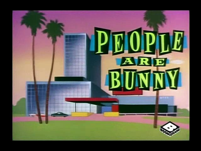 Merrie Melodies - People are Bunny (1959)