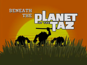 Planet of the taz