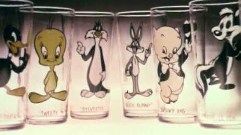 Hardee's Looney Tunes Glasses, 1975 2