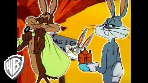 Looney Tunes - Wile E. Coyote Genius vs. Bugs Bunny - Classic Cartoon Compilation - WB Kids