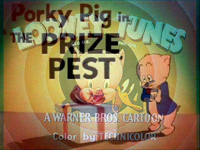 The Prize Pest (1951) with original recreated titles