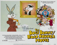 Lt bugs bunny road runner movie lobby card 5
