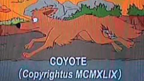 Los Simpsons - correcaminos y coyote
