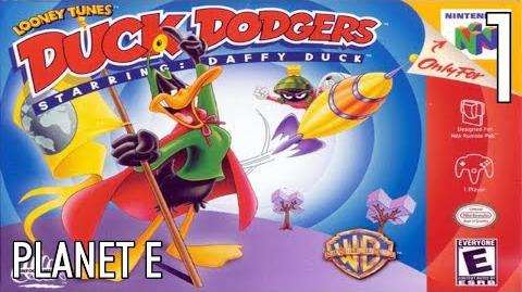 N64 Duck Dodgers starring Daffy Duck - 01 Planet E - All Atoms