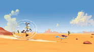 Wile E. Coyote and the Road Runner in 3D