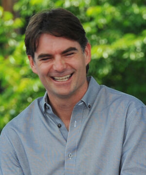 Jeff Gordon Closeup 2012