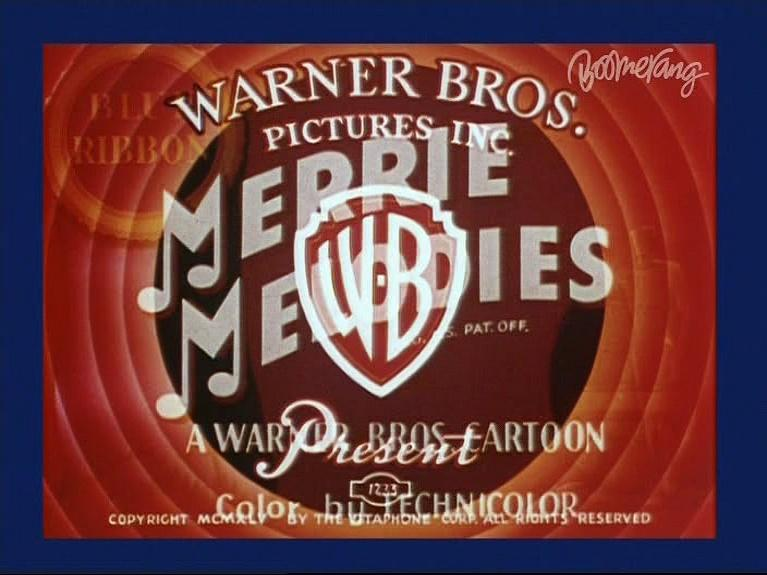 Merrie Melodies - Peck Up Your Troubles (with correct 2x2 dub sync)
