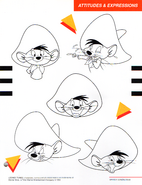 Speedy Gonzales Attitudes and Expressions Part 1