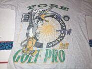 VINTAGE 1997 Looney Tunes Bugs Bunny Golf Pro T-Shirt Size Medium