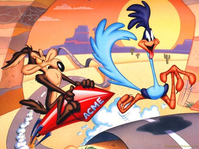 File:Wile-E-Coyote-and-The Road-Runner-wallpaper.jpg