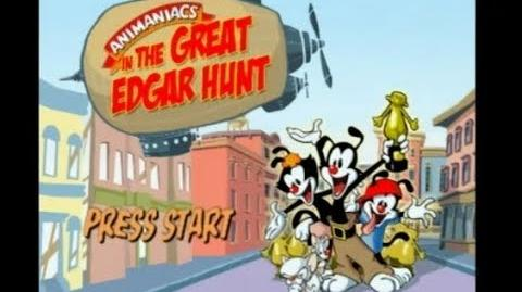 Animaniacs The Great Edgar Hunt PS2 100% Playthrough Part 1