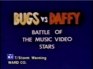 Bugs vs. Daffy - Battle of the Music Video Stars