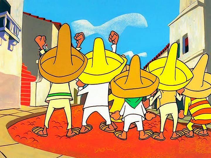 Warner Bros 1964x12 Speedy Las fechorias de Pancho (Pancho's hideaway)