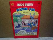 1984 BUGS BUNNY STICKER FUN ACTIVITY BOOK