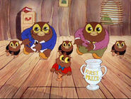 I Love to Singa owls