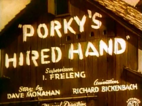 Porky Pig - Hired Hand Full episode cartoon for children