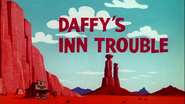 Daffy's Inn Trouble Title Card