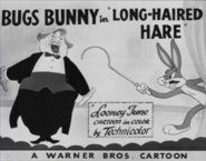 Long-Haired Hare Lobby Card