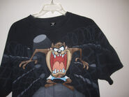 Warner Bros. Studio Mens Tasmanian Devil T-Shirt