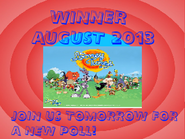 Poll Winner - August 2013