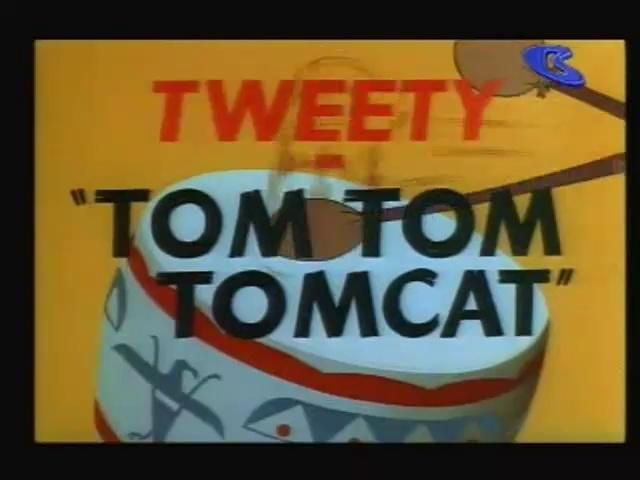 Looney Toons - Tweety And Sylvester - Tom Tom Tomcat