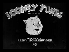 Porky Pig - Porky's Railroad (1937)