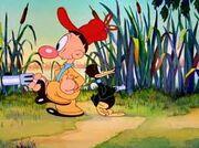 Egghead y Daffy