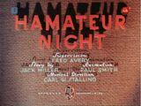 Hamateur Night