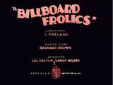 Billboard Frolics
