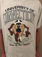 Vintage UCONN Looney Tunes Taz T-Shirt